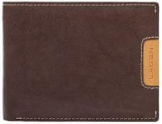 Lagen Pánská kožená peněženka 615195 Brown/Tan