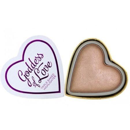 Makeup Revolution Cardiac rozjaśniacz Bogini miłości KOCHAM kosmetyczne (Serca Highlighter bogini miłości) 10 g