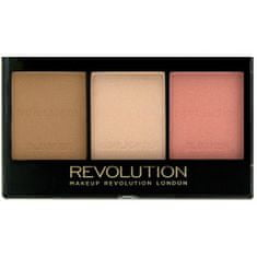 Makeup Revolution Rozjasňující konturovací sada na obličej (Ultra Brightening Contour Kit)