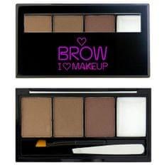 Makeup Revolution Set na obočí Přirozeně upravená I LOVE MAKEUP (Brow Kit I Woke Up This Groomed) 3 g