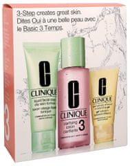 Clinique Čistiaca starostlivosť pre zmiešanú až mastnú pleť (3-Step Introduction Kit Skin Type 3)
