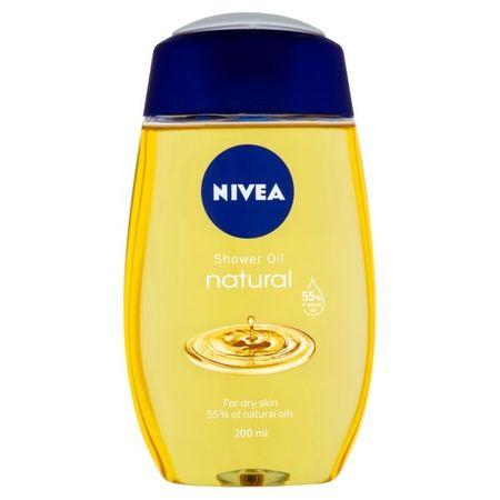 Nivea Tusoló olaj száraz bőrre Natural Oil 200 ml