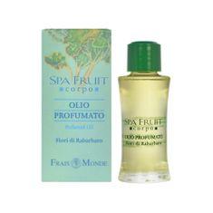 Frais Monde Parfémovaný olej Rebarbora (Spa Fruit Rhubarb Flower Perfumed Oil) 10 ml