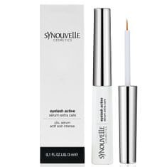Synouvelle Cosmetics Růstové sérum pro aktivní růst řas a obočí (Eyelash Active Serum Extra Care) 3 ml
