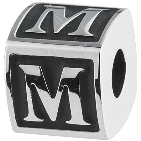 Brosway Stal wisiorek alfabetu M TJ Man BTJN56