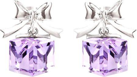 Vicca Kolczyki Cube Violet OI_406033_violet