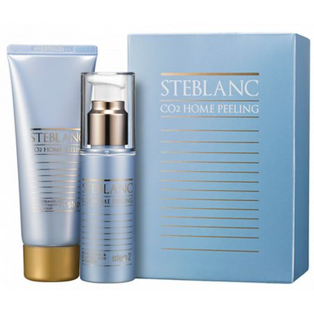 Steblanc Dvojfázový pleťový peeling s CO2 bublinkami (Co2 Home Peeling Kit) 2 x 50 ml