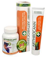 Annabis Arthrocann Collagen Omega 3-6 Forte 60 tbl. + Arthrocann - gel z konopí s koloidním stříbrem na klou