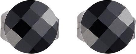 Preciosa Czarne kolczyki Addy 7207 20