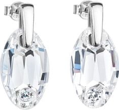 Preciosa Náušnice Elegancy Crystal 6868 00 stříbro 925/1000
