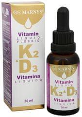 Marnys Tekutý vitamín K2D3 30 ml