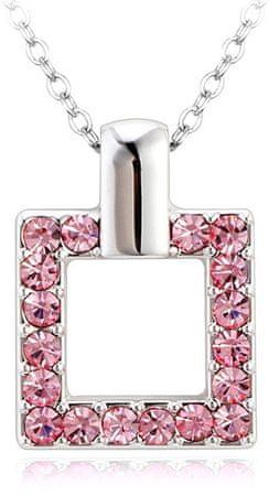 Vicca Naszyjnik Kwadrat Różowy OI_107023_pink