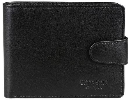 Wildskin Čierna kožená peňaženka 2671513