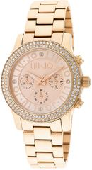 Liu.Jo Steeler Pave Rose Gold TLJ698