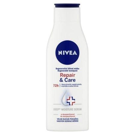 Nivea Regeneračné telové mlieko Repair & Care (Objem 250 ml)