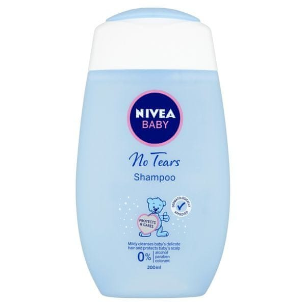 Nivea Extra jemný šampon pro děti Baby (Objem 200 ml)