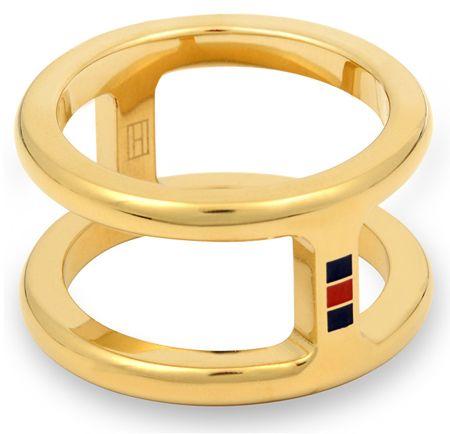 Tommy Hilfiger Oryginalny pierścień stalowy TH2700522 (obwód 56 mm)