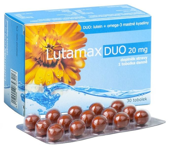 Agency MM Health Lutamax DUO 20 mg 30 kapslí