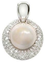 Silver Cat Stříbrný přívěsek s perlou SC128 stříbro 925 1000 8f98c522fed