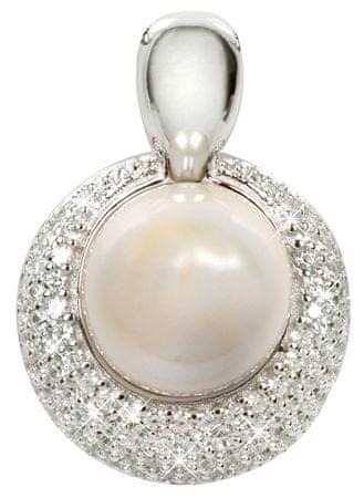 Silver Cat Strieborný prívesok s perlou SC128 striebro 925/1000