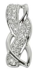 Silver Cat Ezüst medál kristályokkal SC110 ezüst 925/1000