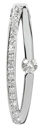Silver Cat Stříbrný přívěsek s krystaly SC119 stříbro 925/1000