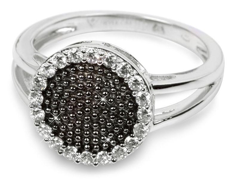 c7fb0a08e Silver Cat Stříbrný prsten s krystaly SC142 (Obvod 52 mm) stříbro 925/1000