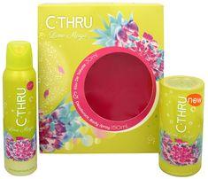 C-Thru Lime Magic - woda toaletowa 30 ml + dezodorant w sprayu 150 ml