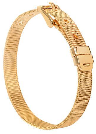 Troli Złota bransoletka stalowa Gold