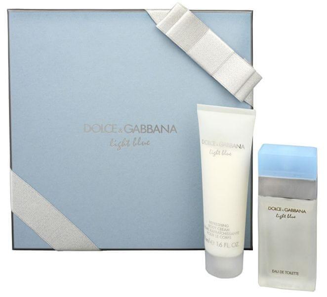 Dolce & Gabbana Light Blue - EDT 25 ml + tělové mléko 50 ml pro ženy
