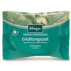 Kneipp Perlivá tableta do kúpeľa Nachladnutie 80 g