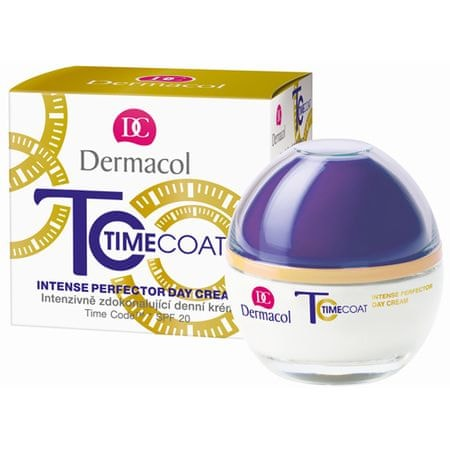 Dermacol SPF 20 Time Coat intenzív nappali arckrém(Intense Perfector Day Cream) 50 ml
