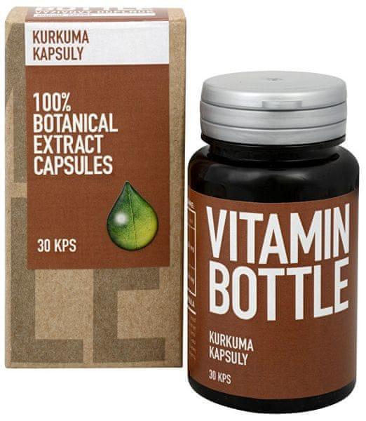 Vitamin-Bottle Kurkuma 30 kapslí