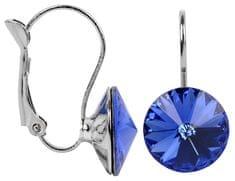 Troli Náušnice Rivoli 12 mm Sapphire