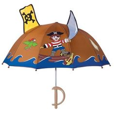 Blooming Brollies Dětský holový deštník Kidorable Pirate U0100PIR