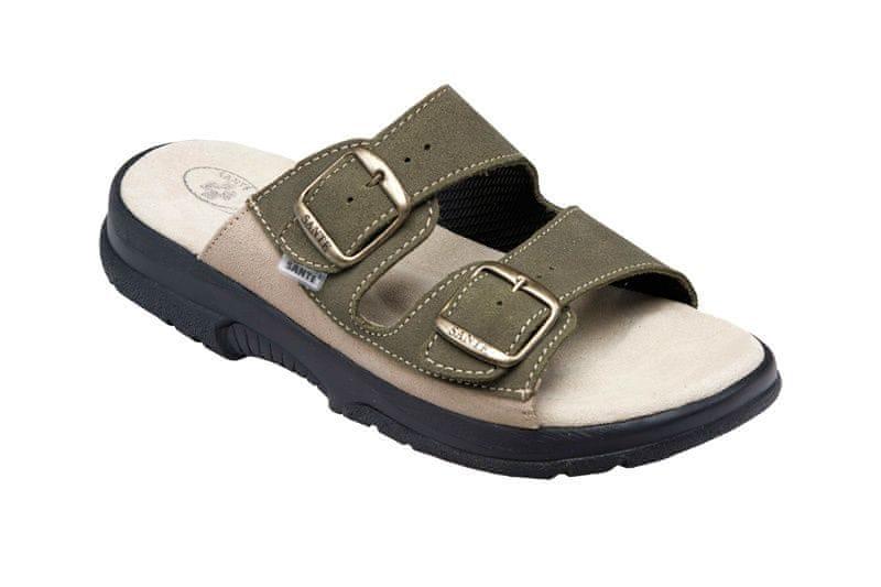 SANTÉ Zdravotní obuv pánská N 517 36 98 28 CP khaki 325fe180997