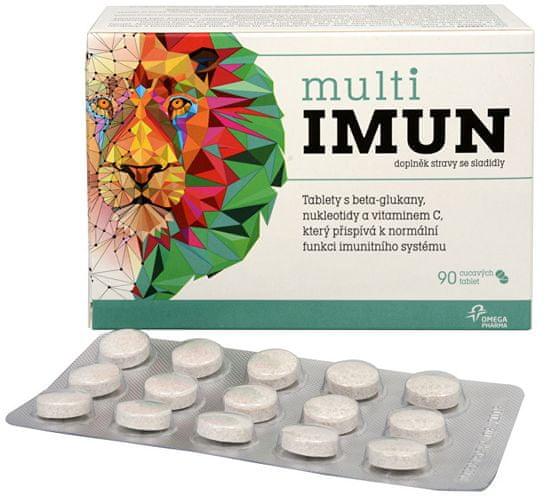 Omega Pharma MultiIMUN cucavé tablety s grepovou příchutí