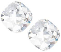 Preciosa Náušnice s čirým krystalem Brilliant Rose 6012 00 stříbro 925/1000