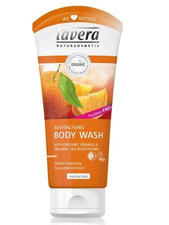 Lavera Sprchový a koupelový gel s BIO pomerančem a BIO rakytníkem Body Spa (Objem 200 ml)