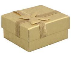 Jan KOS Arany színű ajándékdoboz fülbevalóhoz RZ-1/AU