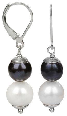 JwL Luxury Pearls Srebrne kolczyki z prawdziwych pereł JL0151 srebro 925/1000