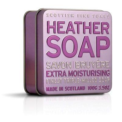 Scottish Fine Soap Mydlo v plechu Vresovec 100 g