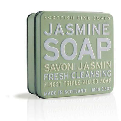 Scottish Fine Soap Mydlo v plechu Jazmín 100 g