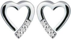 Hot Diamonds Náušnice Hot Diamonds Just add Love Memories DE110 stříbro 925/1000