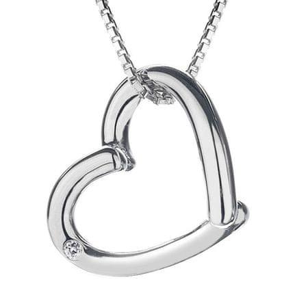 Hot Diamonds Stříbrný náhrdelník Hot Diamonds Just Add Love DP214 stříbro 925/1000