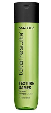 Matrix Regeneračný stylingový šampón Total Results Texture Games (Shampoo For Texture) (Objem 300 ml)