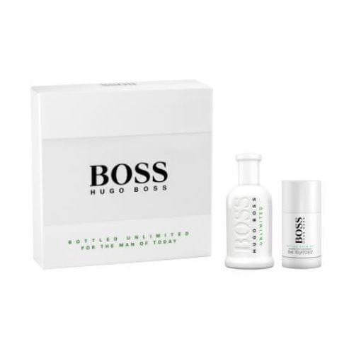 Hugo Boss Boss No. 6 Bottled Unlimited - EDT 100 ml + tuhý deodorant 75 ml