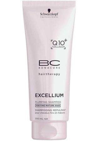 Schwarzkopf Prof. Odżywczy szampon do włosów cienkich dojrzałej Excellium (Plumping szampon) (objętość 1000 ml)