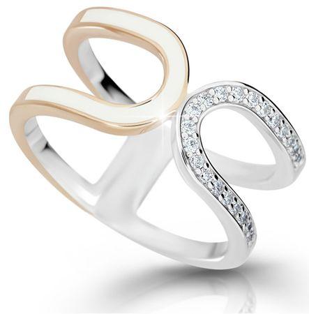 Modesi Nowoczesne srebrny pierścionek M11078 (obwód 52 mm) srebro 925/1000