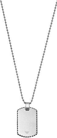 Emporio Armani Oceľový náhrdelník pre mužov EGS2074040